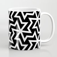 arabic Mugs featuring Arabic by Patterns and Textures