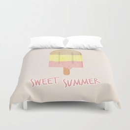 Summer Ice Cream Duvet Cover