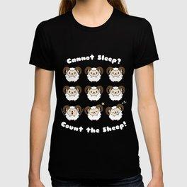 Cannot Sleep? Count The Sleep T Shirt T-shirt