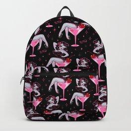 Cherry Martini Girl Backpack