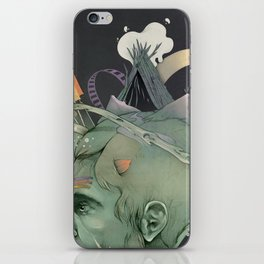 The traveler dreams iPhone Skin