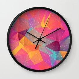 Abstract Polygonal Pattern 06 Wall Clock