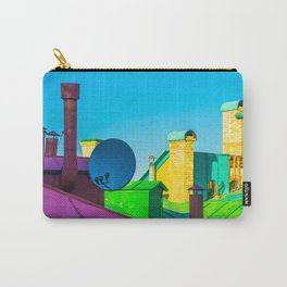 The brightness of the roofs of the city Carry-All Pouch