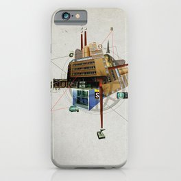 Collage City Mix 1 iPhone Case