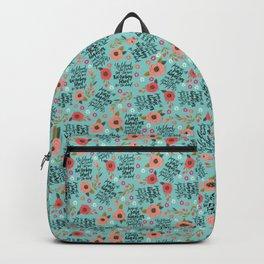 Pretty Sweary: She was too Fucking Tired Backpack