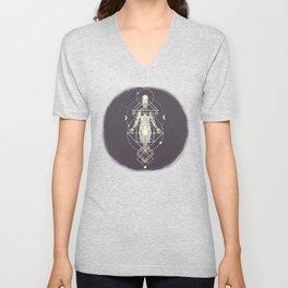 Sacred Geometry (Divine Feminine) Unisex V-Neck