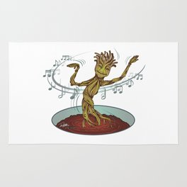 Guardians of the Galaxy - Dancing Baby GROOT Rug