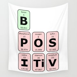 Be Positive Wall Tapestry
