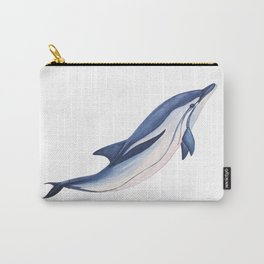 Striped baby dolphin Carry-All Pouch
