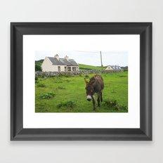 Irish Cottage Framed Art Print