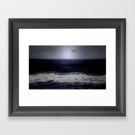 The wind calls your name Framed Art Print