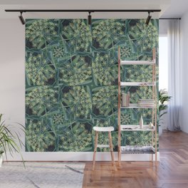 Green Herb Garden, Dill Flowers Wall Mural