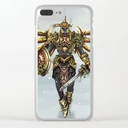 Hero's Shade Clear iPhone Case