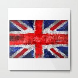 Union Jack - UK Metal Print