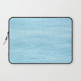 Colors of the Sea Water - Clear Blue Laptop Sleeve