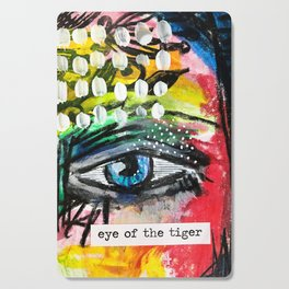 Eye of the Tiger Cutting Board