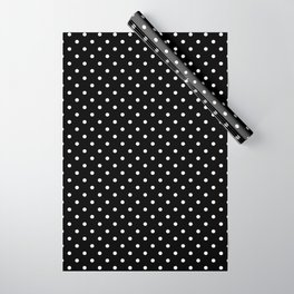 Dots (White/Black) Wrapping Paper