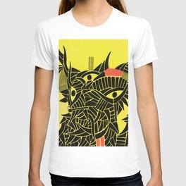 - down - T-shirt