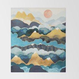 Cloud Peaks Throw Blanket