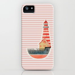 To The Land of Imagination iPhone Case