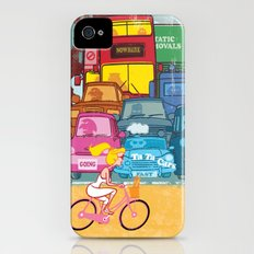 Going Nowhere Fast! iPhone (4, 4s) Slim Case