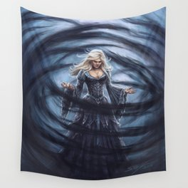Dark Swan Wall Tapestry