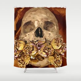 Flowery Tongue Shower Curtain