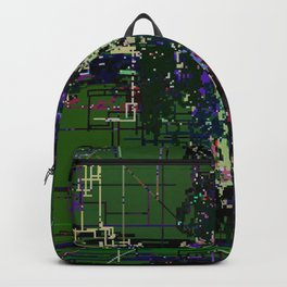 8bit fool Backpack