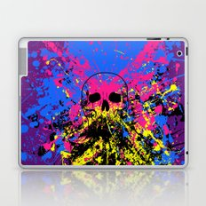 Skull splatter Laptop & iPad Skin