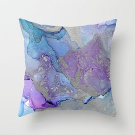 The Mists of Avlon Throw Pillow