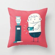 :::Museum photo::: Throw Pillow
