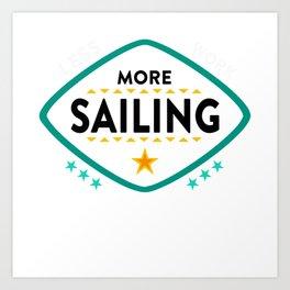 Sailing Art Print