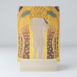 Gustav Klimt - Diesen Kuss der ganzen Welt Mini Art Print