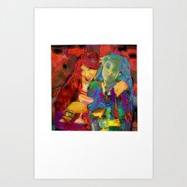 sym·me·try Art Print