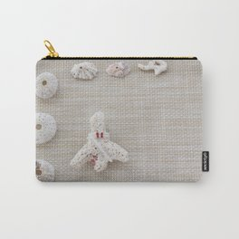 Seashells and urchins design Carry-All Pouch