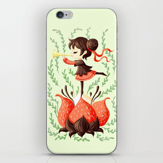 Spring Melody iPhone & iPod Skin