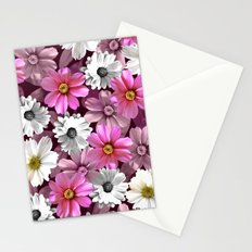 Cosmos and Marigolds Stationery Cards