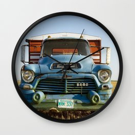 GMC Graintruck 3 Wall Clock