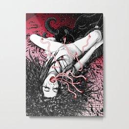 Wine At Pigalle Metal Print