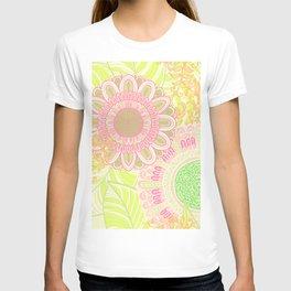 Hand Drawn Floral & Mandala 07 T-shirt