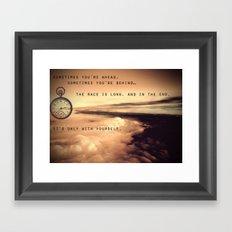 Baz Luhrmann Framed Art Print