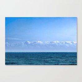Large Cloud Sky Canvas Print