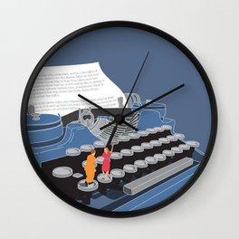 The Fitzgeralds Wall Clock