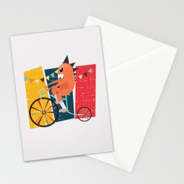 Vintage Circus Stationery Cards