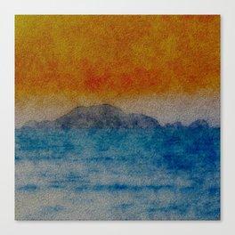 TREASURE ISLAND Canvas Print
