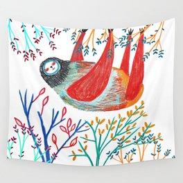 sloth life Wall Tapestry