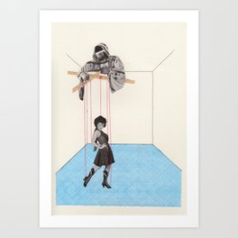 Strings Attached #6 Art Print