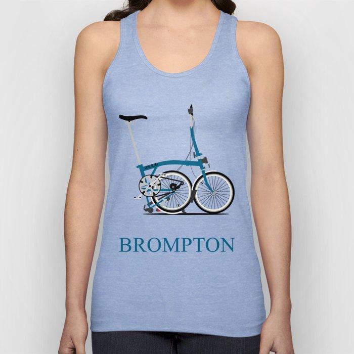 Brompton Bike Unisex Tank Top