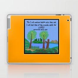 Jeremiah 30:17, KJV Laptop & iPad Skin