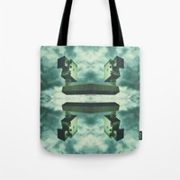 1984 Tote Bags featuring 1984 by Joseph Morningstar